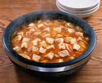 チゲ鍋(豆腐) 20013015873| 写真素材・ストックフォト・画像・イラスト素材|アマナイメージズ