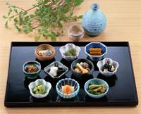 山菜珍味10種