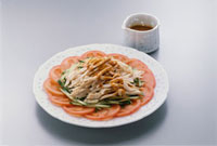 前菜(バンバンジー)