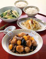 里芋と栗の中華風うま煮
