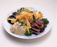 五種冷菜盛り合わせ(五福?盆)