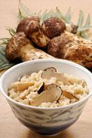 松茸ご飯 20013024280| 写真素材・ストックフォト・画像・イラスト素材|アマナイメージズ