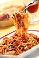スパゲティ(ボンゴレロッソ) 20013024631| 写真素材・ストックフォト・画像・イラスト素材|アマナイメージズ