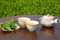 日本茶 20013025371  写真素材・ストックフォト・画像・イラスト素材 アマナイメージズ