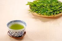 日本茶 20013025384  写真素材・ストックフォト・画像・イラスト素材 アマナイメージズ