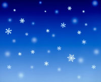 降る雪の結晶