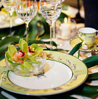 Elegant placesetting