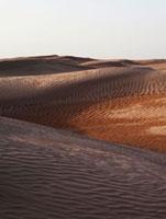Sand dunes in Sahara,Tunisia.