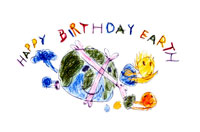 地球さんお誕生日おめでとう