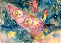 宇宙旅行 20020000088| 写真素材・ストックフォト・画像・イラスト素材|アマナイメージズ