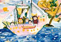 楽しい島 20020000095| 写真素材・ストックフォト・画像・イラスト素材|アマナイメージズ