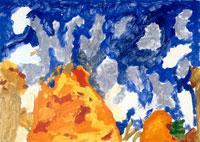 森の火事 20020000152| 写真素材・ストックフォト・画像・イラスト素材|アマナイメージズ