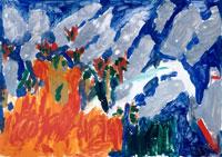 山火事 20020000153| 写真素材・ストックフォト・画像・イラスト素材|アマナイメージズ