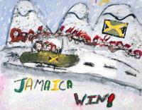 冬季オリンピックのボブスレー