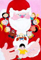 サンタさんの首かざり