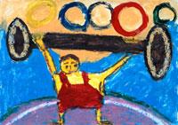 オリンピック選手 20020000225| 写真素材・ストックフォト・画像・イラスト素材|アマナイメージズ