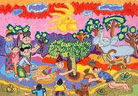 バタカカラの伝説 20020000238| 写真素材・ストックフォト・画像・イラスト素材|アマナイメージズ