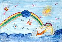 海と人魚 20020000259| 写真素材・ストックフォト・画像・イラスト素材|アマナイメージズ