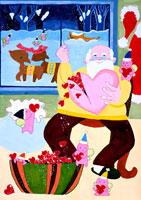 さあ今夜はクリスマス 20020000414| 写真素材・ストックフォト・画像・イラスト素材|アマナイメージズ