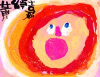 笑う夏の日の太陽 20020000433| 写真素材・ストックフォト・画像・イラスト素材|アマナイメージズ