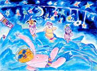 海水浴 20020000486| 写真素材・ストックフォト・画像・イラスト素材|アマナイメージズ