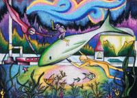 水中の世界 20020000522| 写真素材・ストックフォト・画像・イラスト素材|アマナイメージズ