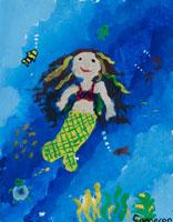 人魚 20020000524| 写真素材・ストックフォト・画像・イラスト素材|アマナイメージズ