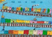 電車 20020000556| 写真素材・ストックフォト・画像・イラスト素材|アマナイメージズ