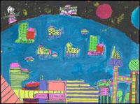 宇宙での生活 20020000657| 写真素材・ストックフォト・画像・イラスト素材|アマナイメージズ