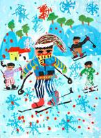 スキー 20020000753| 写真素材・ストックフォト・画像・イラスト素材|アマナイメージズ
