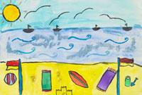 ビーチ 20020000770| 写真素材・ストックフォト・画像・イラスト素材|アマナイメージズ