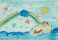 人魚 20020000772| 写真素材・ストックフォト・画像・イラスト素材|アマナイメージズ