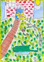 ぼくの庭のクローズアップ 20020000791| 写真素材・ストックフォト・画像・イラスト素材|アマナイメージズ