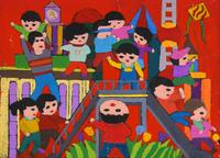 幸せな幼少期 20020000902| 写真素材・ストックフォト・画像・イラスト素材|アマナイメージズ