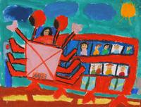 理想的なバス 20020001004| 写真素材・ストックフォト・画像・イラスト素材|アマナイメージズ