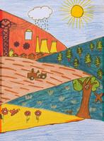 田園 20020001037| 写真素材・ストックフォト・画像・イラスト素材|アマナイメージズ