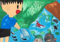 ため池にすむ生き物
