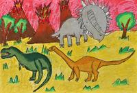 恐竜 20020001328| 写真素材・ストックフォト・画像・イラスト素材|アマナイメージズ