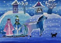 冬 20020001354| 写真素材・ストックフォト・画像・イラスト素材|アマナイメージズ
