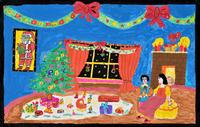 ハッピクリスマスデイ 20020001365| 写真素材・ストックフォト・画像・イラスト素材|アマナイメージズ