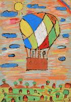 気球 20020001391| 写真素材・ストックフォト・画像・イラスト素材|アマナイメージズ