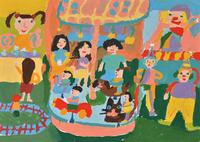 遊園地 20020001433| 写真素材・ストックフォト・画像・イラスト素材|アマナイメージズ