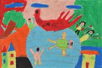 水遊び 20020001440| 写真素材・ストックフォト・画像・イラスト素材|アマナイメージズ