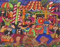 パグユパンのダンスを祝っています