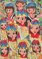 沖縄舞踊 20020001444| 写真素材・ストックフォト・画像・イラスト素材|アマナイメージズ