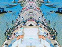 川の洗濯場 20021000026| 写真素材・ストックフォト・画像・イラスト素材|アマナイメージズ
