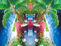 ガーデンテラス 20021000034| 写真素材・ストックフォト・画像・イラスト素材|アマナイメージズ