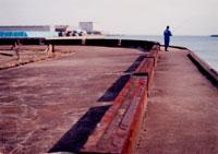 東京湾と釣り人 20021001172| 写真素材・ストックフォト・画像・イラスト素材|アマナイメージズ