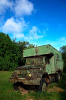 廃車のトラック