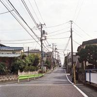 住宅地と道路